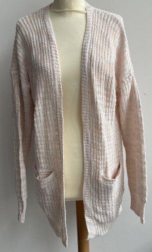 Colloseum Giacca in maglia rosa pallido-rosa