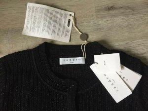 Sandro Veste en tricot noir viscose