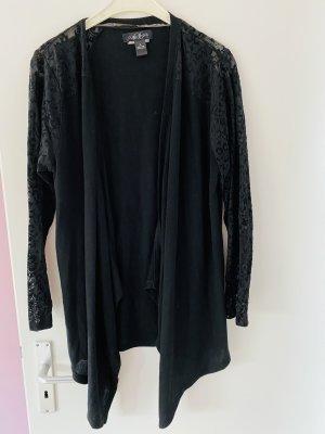 August Silk Giacca in maglia nero