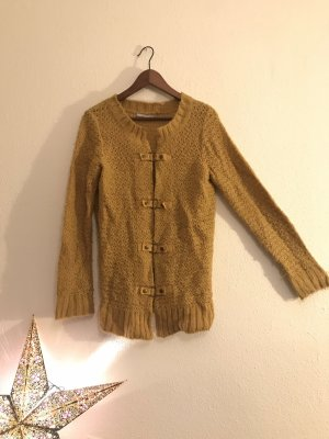 Strickjacke || senf gelb || 3 Suisses || 38/40