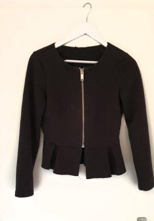Strickjacke Shirtjacke schwarz S Gina Tricot