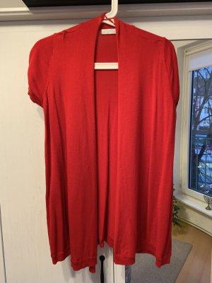 Promod Blazer in maglia rosso