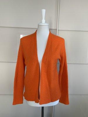 Strickjacke St.Emile 38 Orange Wolle Cashmere