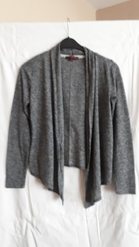 Strickjacke Tom Tailor, grau meliert, Größe M, letzter Preis