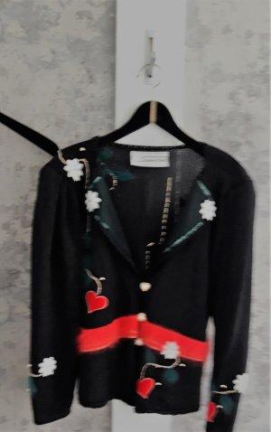 Maglione tradizionale multicolore Tessuto misto