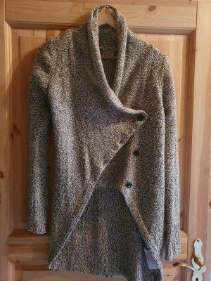 Vero Moda Veste en laine crème-marron clair laine