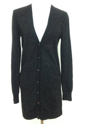 0039 Italy Knitted Cardigan anthracite wool