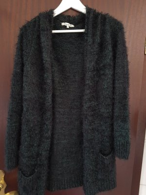 anna & ella Cardigan black-dark green