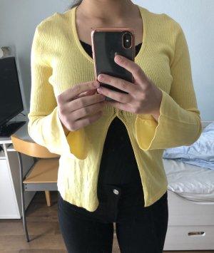 Strickjacke von BIBA in gelb