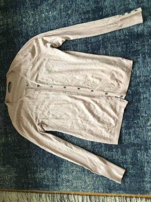 Brax Veste en tricot vieux rose viscose