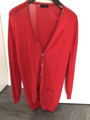 Dsquared2 Abrigo de punto rojo