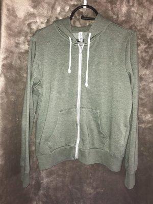 H&M Jack met capuchon grijs-groen-khaki