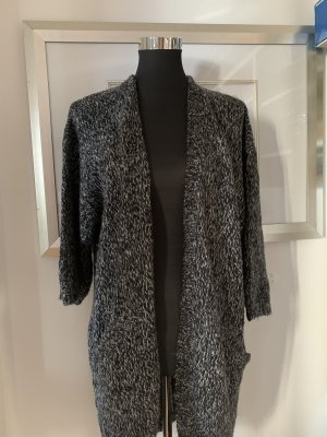 H&M Veste en tricot gris foncé