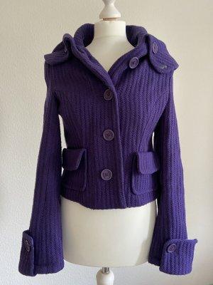 Hooch Wool Jacket dark violet