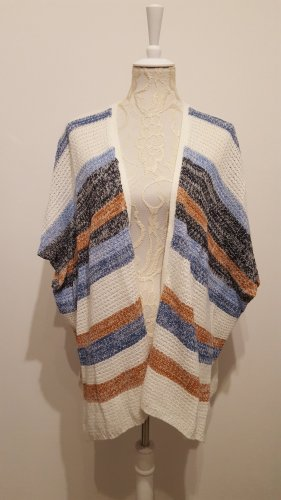 Janina Knitted Poncho multicolored
