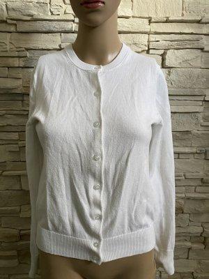 Marie Lund Giacca in maglia bianco