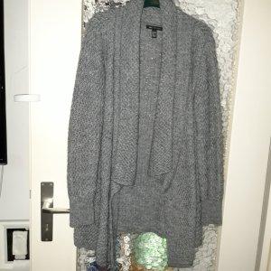 MNG Collection Cárdigan de punto grueso gris