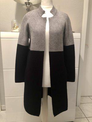 Morgan Cardigan in maglia nero-grigio