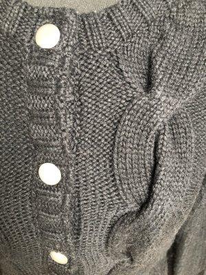 Strickjacke von Object schwarz Gr. M