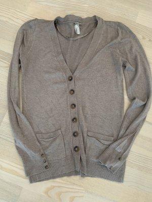 Primark Chaqueta estilo camisa marrón grisáceo-marrón claro