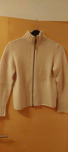 Repeat Giacca in maglia beige