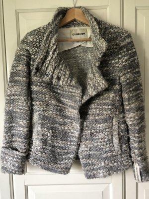 Rich & Royal Veste tricotée en grosses mailles multicolore acrylique