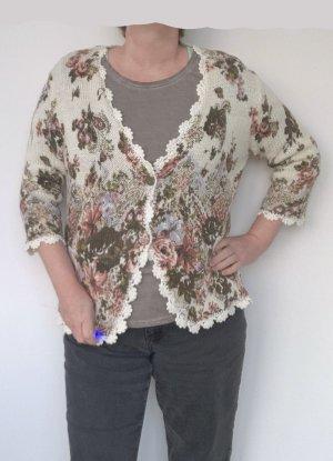 Taifun Knitted Vest multicolored polyacrylic