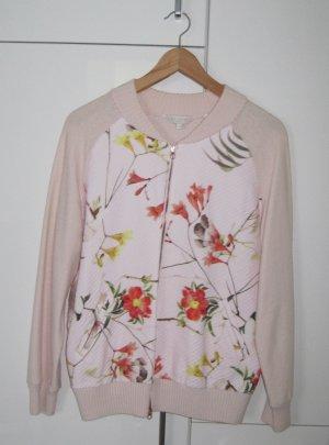 Ted baker Veste en tricot rose clair laine