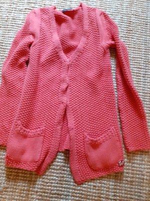 Strickjacke von twinset in pink/Rose