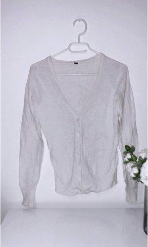 Strickjacke weiß cardigan jäckchen strick knit