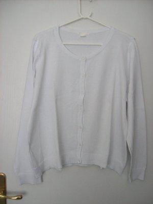 H&M Basic Chaleco de punto blanco