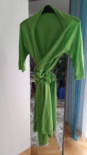 Veste cache-coeur vert fluo