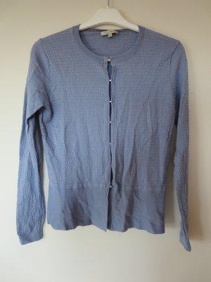 Lilienfels Knitted Cardigan cornflower blue wool