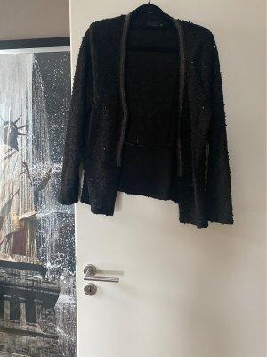 xxx Szydełkowany sweter czarny