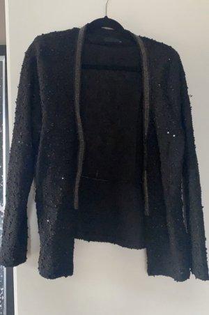 Strickjacke XL schwarz 42