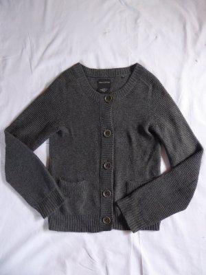 Marc O'Polo Coarse Knitted Jacket dark grey