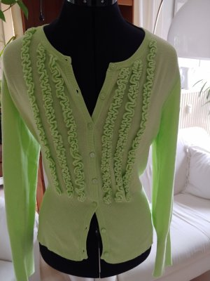 Cassis Cardigan pale green-meadow green