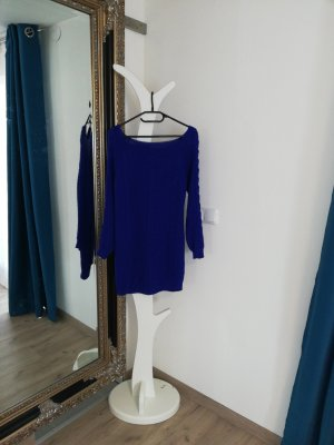 Woolen Dress blue