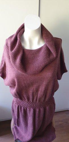 Vero Moda Knitted Dress blackberry-red