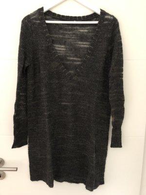 H&M Abito di maglia grigio scuro