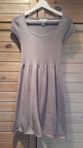 Mango Knitted Dress mauve-lilac