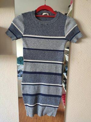 Zara Knit Robe en laine multicolore