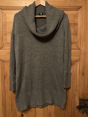 H&M Knitted Dress grey