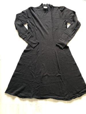 H&M Robe en laine noir viscose