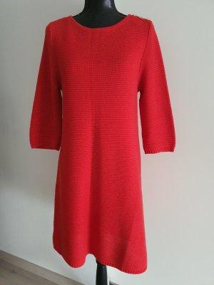 H&M Abito di maglia rosso