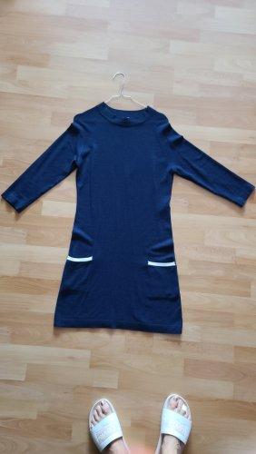 Vero Moda Vestido tejido azul oscuro