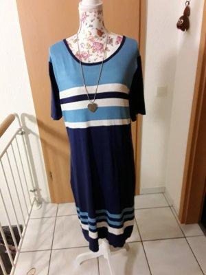 Blue Motion Sukienka z dzianiny Wielokolorowy