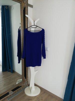 Vestito di lana blu