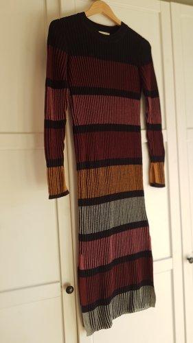 H&M Vestido tejido multicolor tejido mezclado