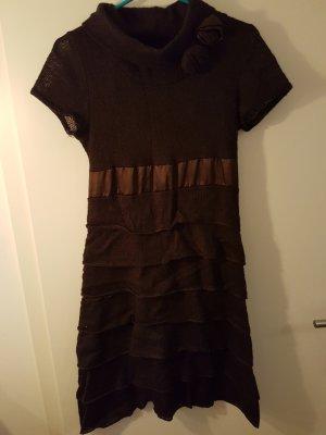 Woolen Dress light brown